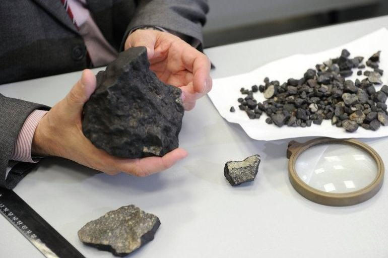 Исследование метеорита