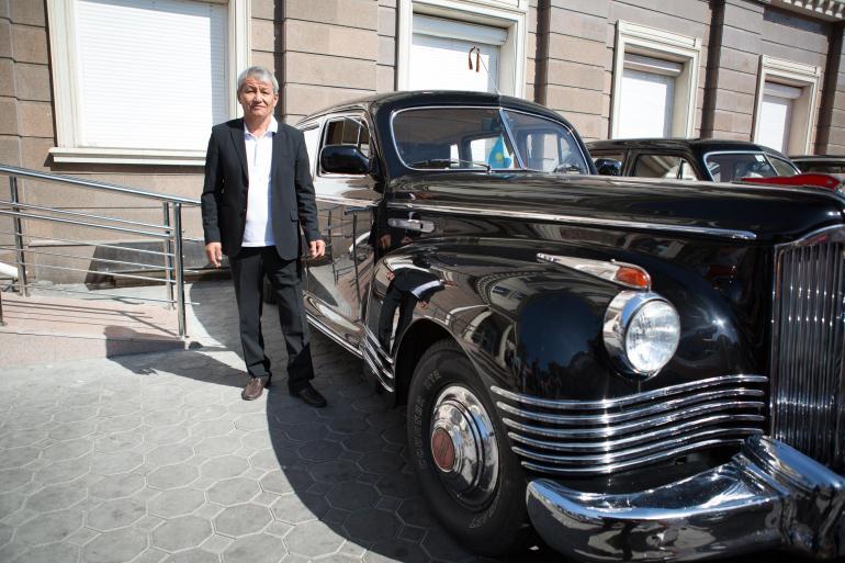 Автомобиль после реставрации