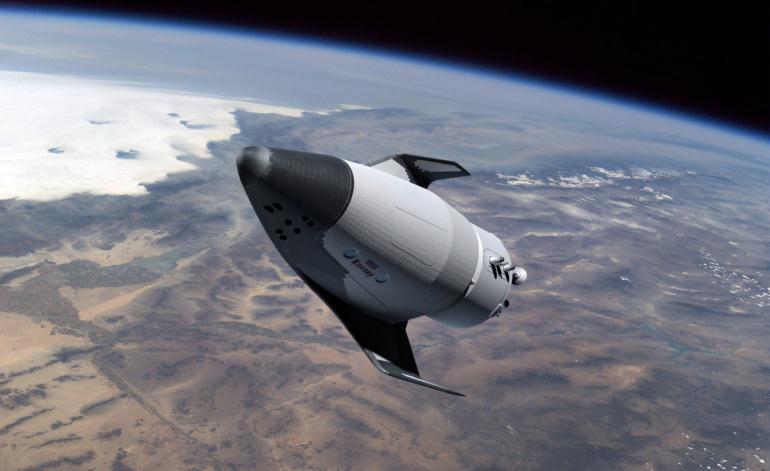 """Космический корабль нового типа """"Клипер"""""""