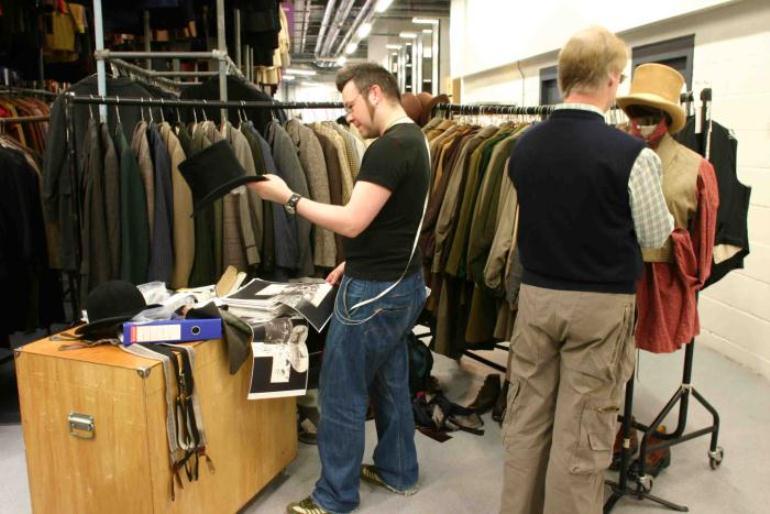 Подготовка костюма