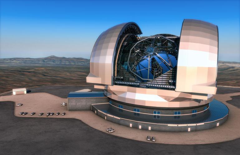 Европейский телескоп