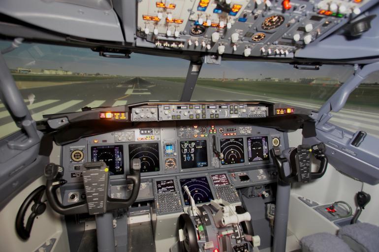 Aвиатренажер «Боинг 737»