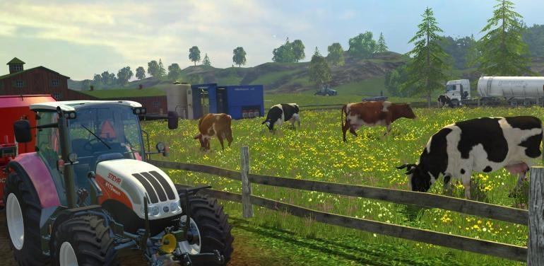 Цена симулятора фермера и самолета