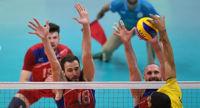 Профессиональные волейболисты