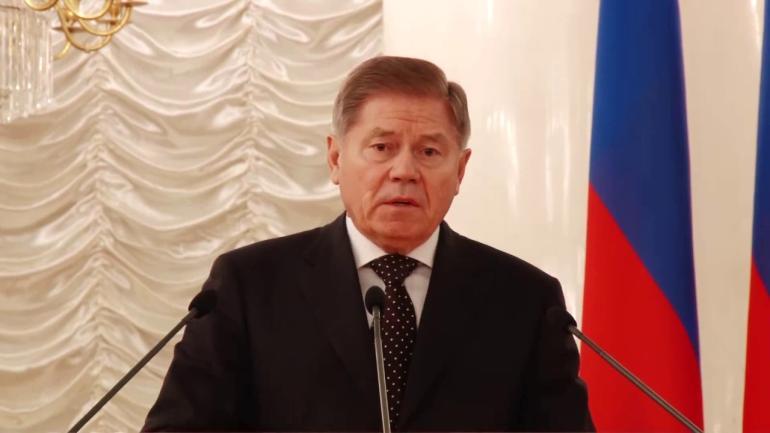 Верховный судья Вячеслав Лебедев