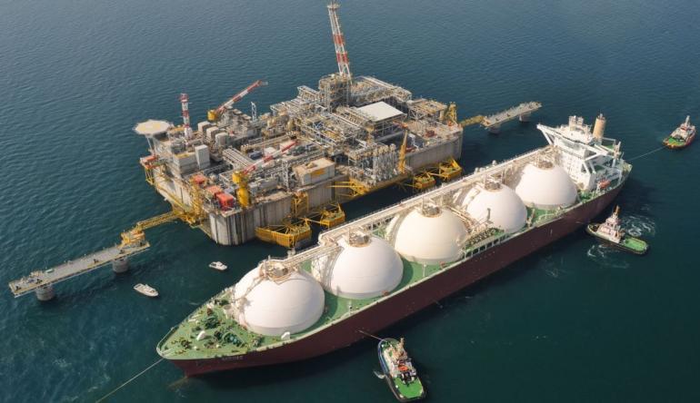 Корабль нефте-газовой отрасли
