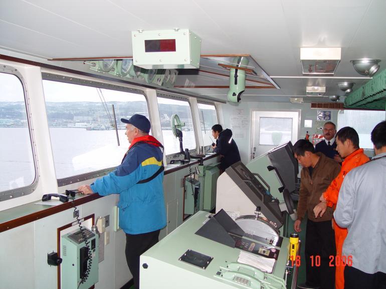 Проводка судна