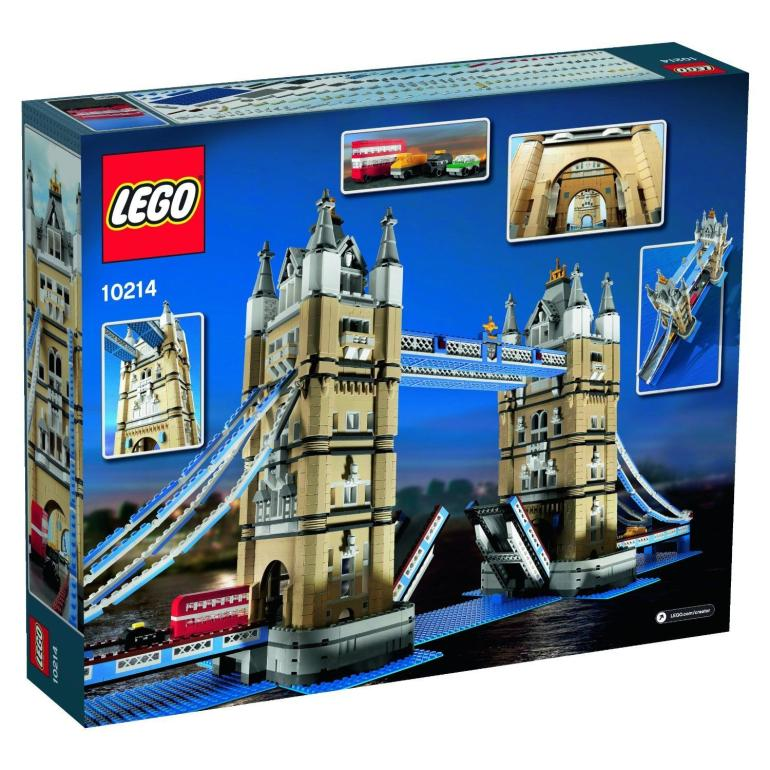Тауэрский мост Лего