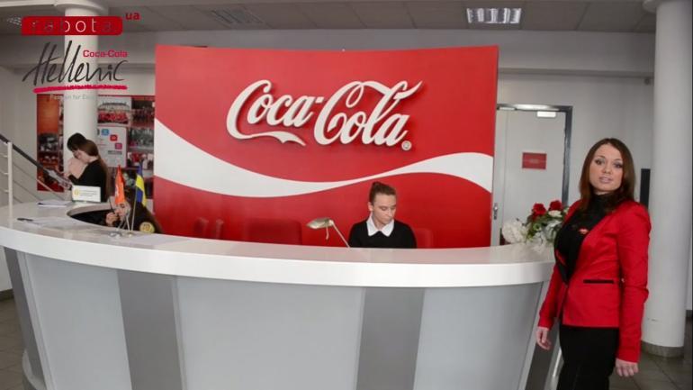 Торговый представитель Кока-Колы