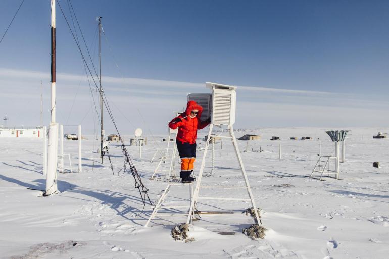 Работа метеоролога