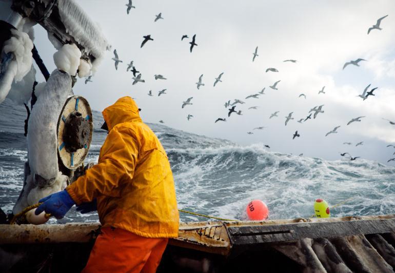 Обычный рядовой рыбак