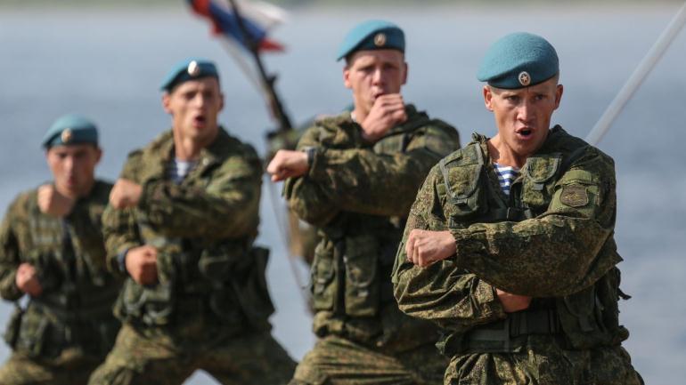 Представители десантных войск