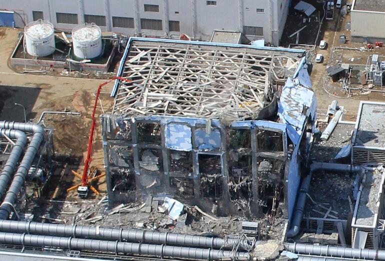 АЭС «Фукусима» в Японии