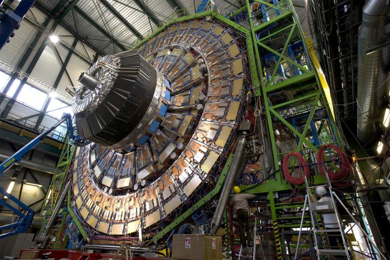 Строительство андронного коллайдера
