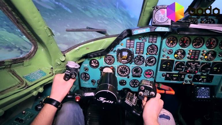 Авиасиммулятор «ТУ-134