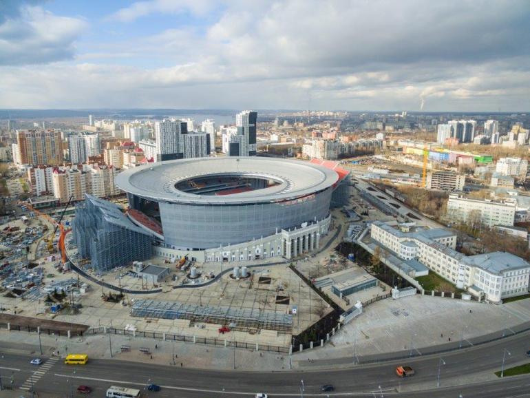 Екатеринбург Арена (стадион Центральный)