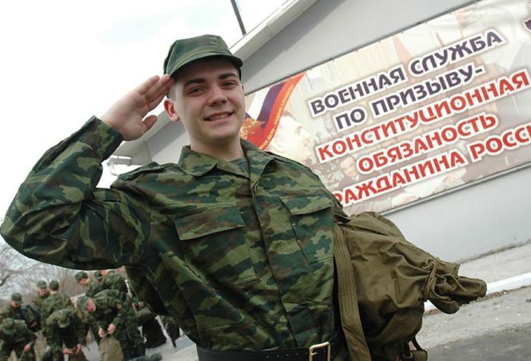 Солдат срочник