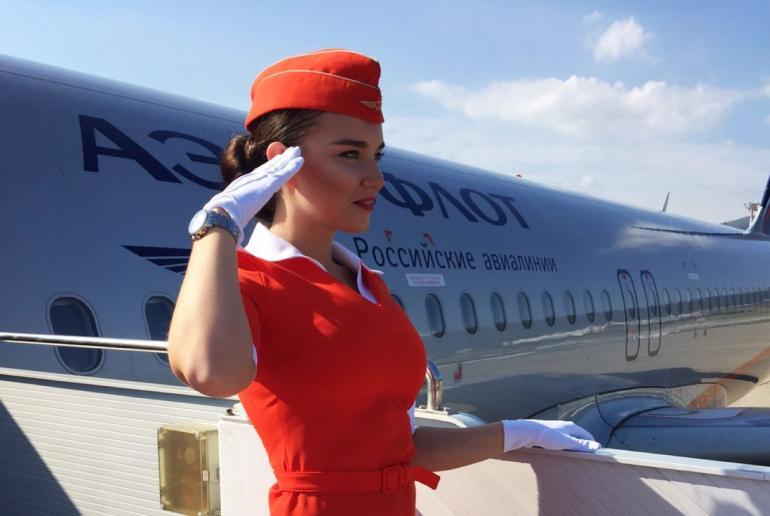 Молоденькая стюардесса