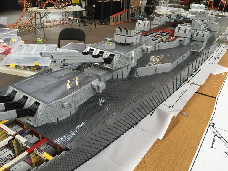 Линкор USS