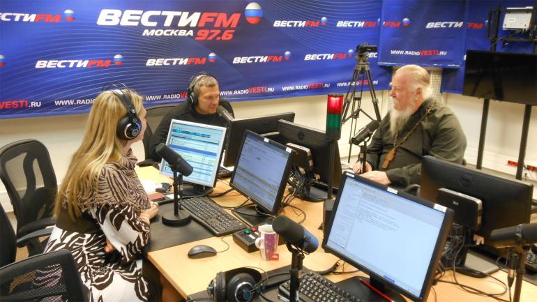 На радио
