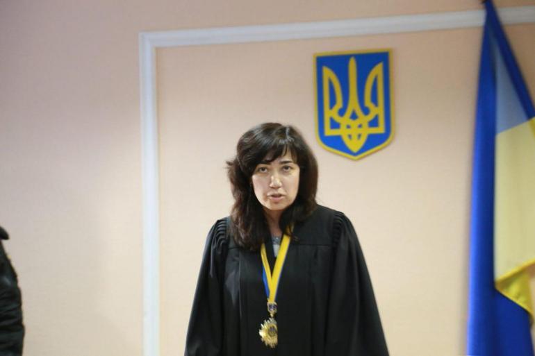 Работник суда в Украине