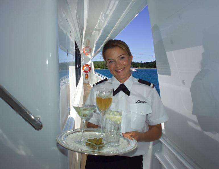 Стюард морского пассажирского флота
