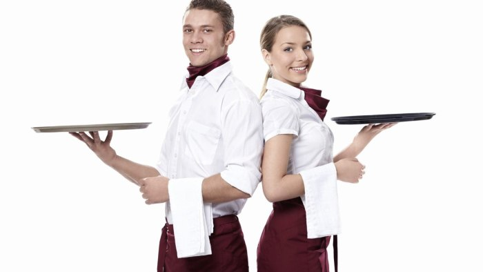 Работа официант для девушек зубчук